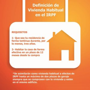 deduccion vivienda habitual 2019