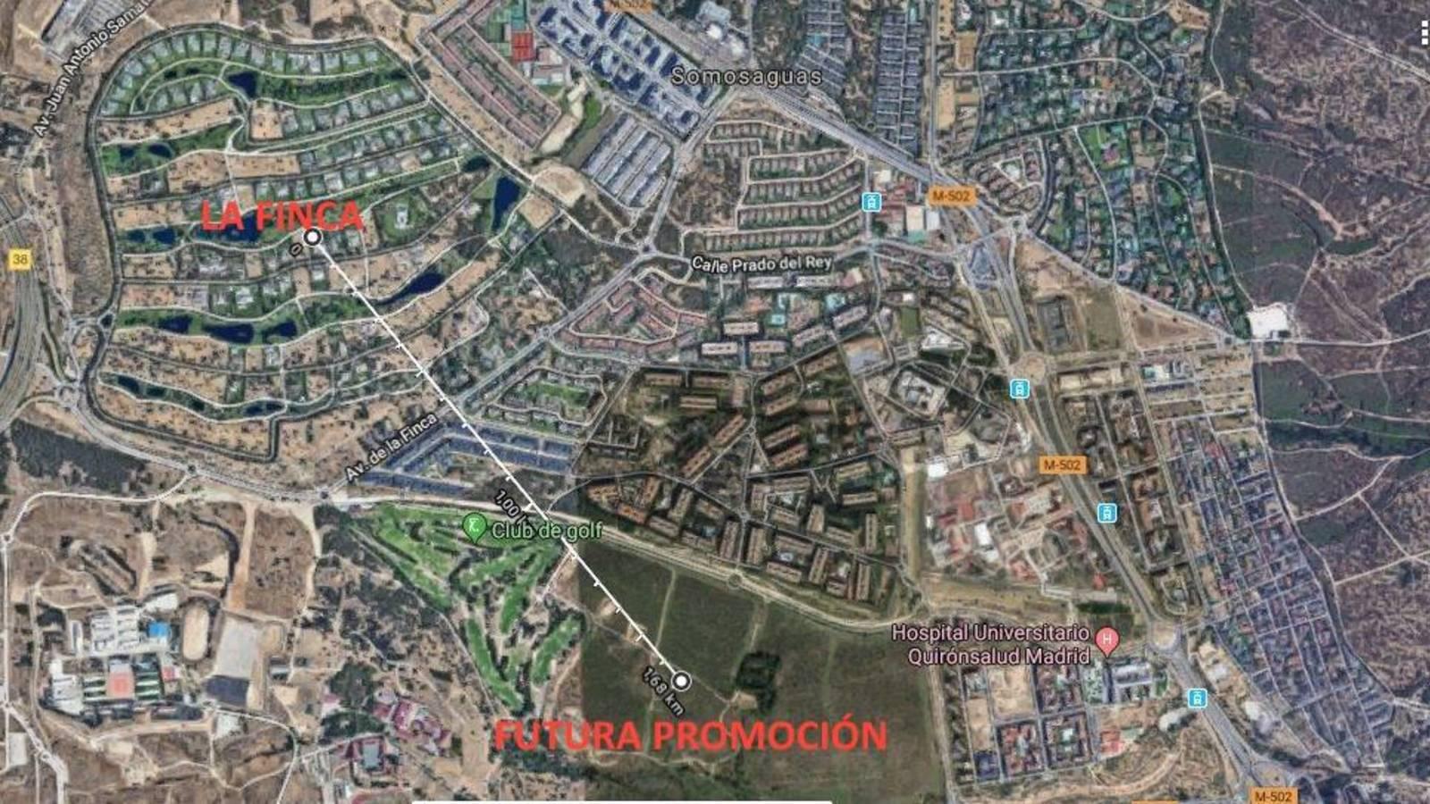 Casas desde 1 mill n fiebre por vivir junto a la finca - Urbanizacion la finca madrid ...