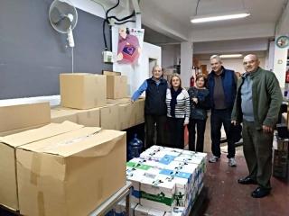 El PP d'Alboraia lliura més de mitja tona d'aliments per a famílies necessitades de la localitat