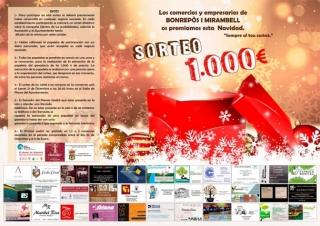 La nova junta directiva de l'Associació de Comerciants i Empresaris de Bonrepòs i Mirambell sorteja 1.000 €