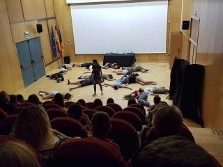 """""""El Casting"""" de Peloki Teatro, tot un èxit a Bonrepòs i Mirambell"""