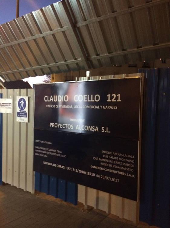 Claudio Coello 121.