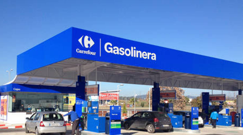 Gasolinera Carrefour.