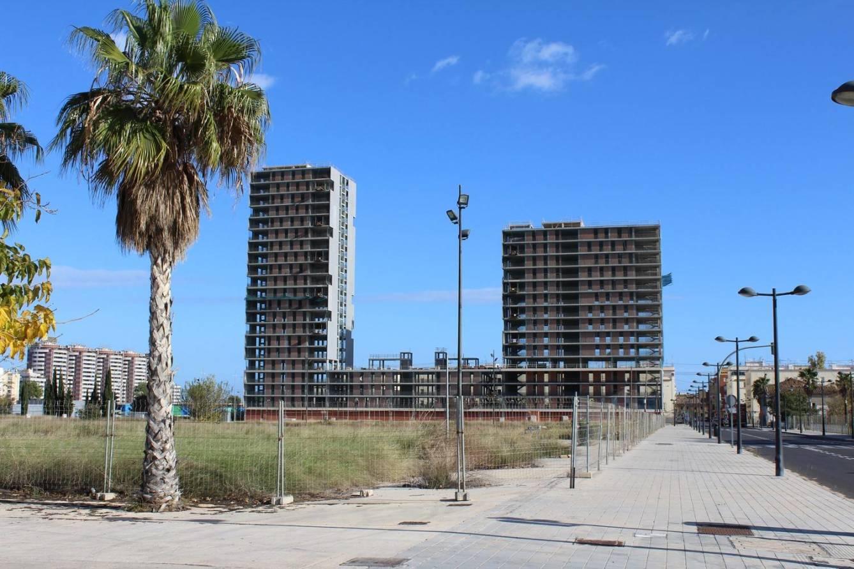 Imagen de Sociópolis (Valencia) cuando las obras quedaron paralizadas. (Roteros Construcción)
