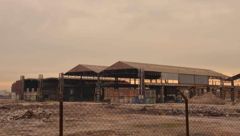 Antigua fábrica de ArcelorMittal en Villaverde. (E. S.)