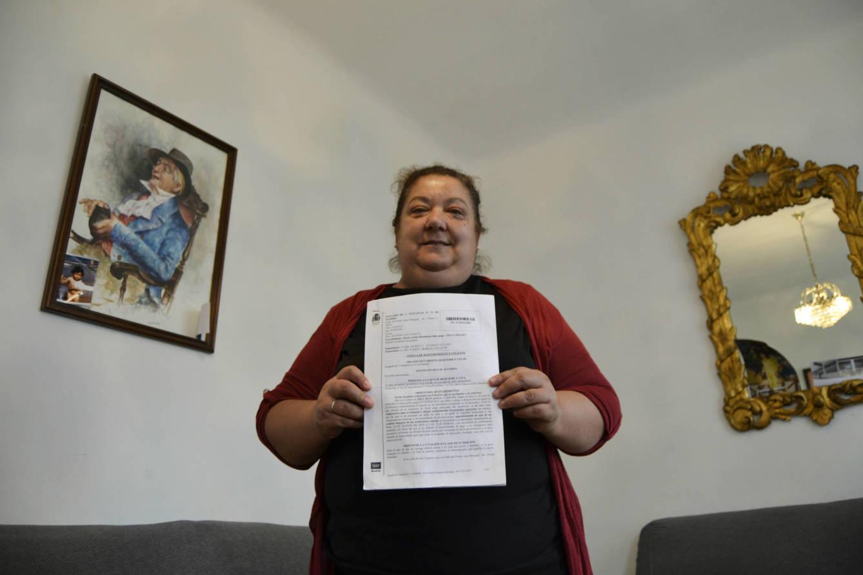 Rosa deberá dejar su vivienda el 28 de noviembre. (M.Z.)