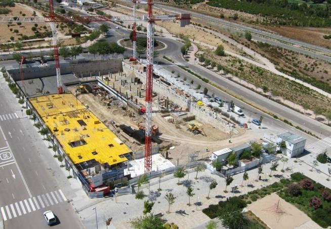 Aires de La Moraleja, una de las promociones en construcción de Amenabar.