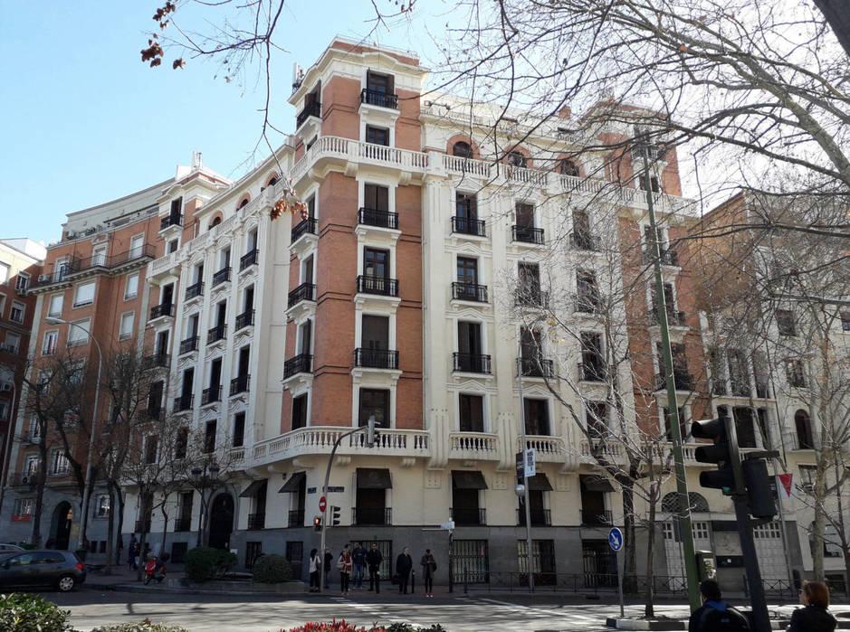 Fachada de Marqués de Salamanca 11