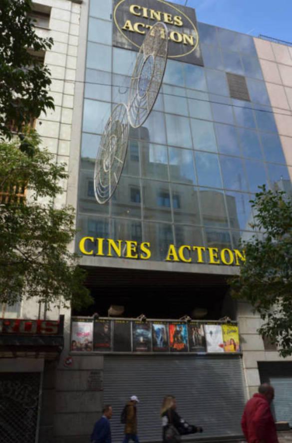Antiguos cines Acteón. (Foto: E.S.)