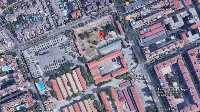 Solar a subasta en Madrid.