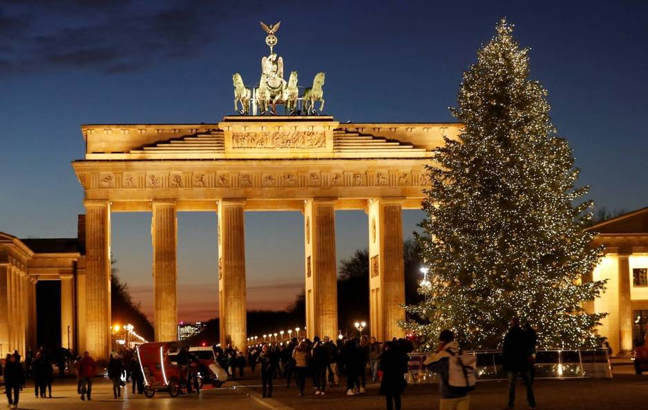 Puerta de Brandenburgo, en Berlín. (EFE / Felipe Trueba)